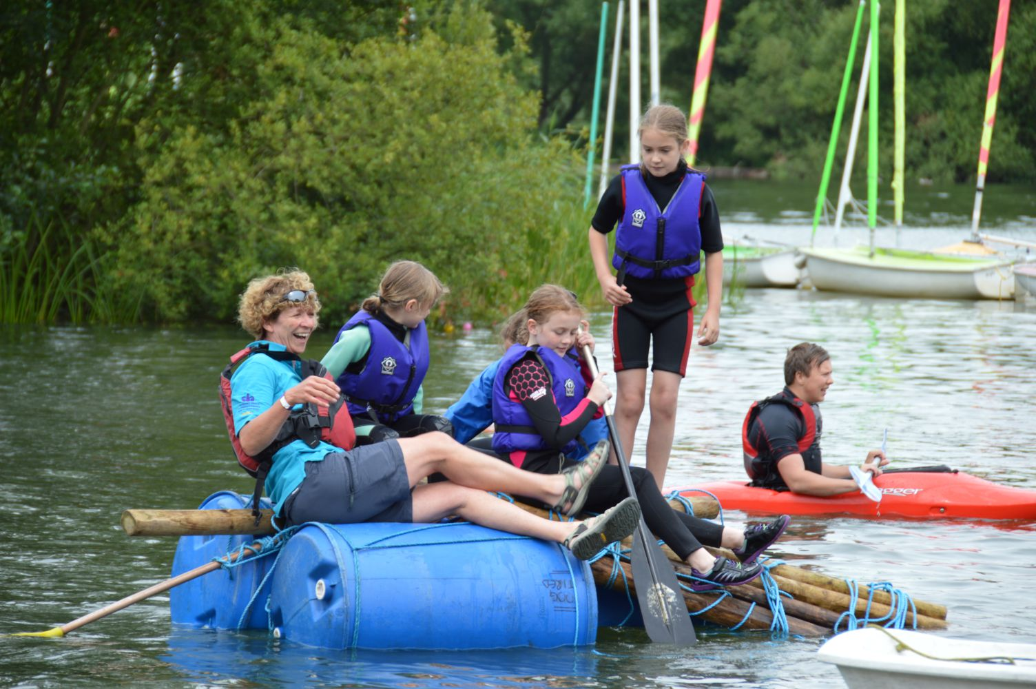 Raft Building Senior Supervisor