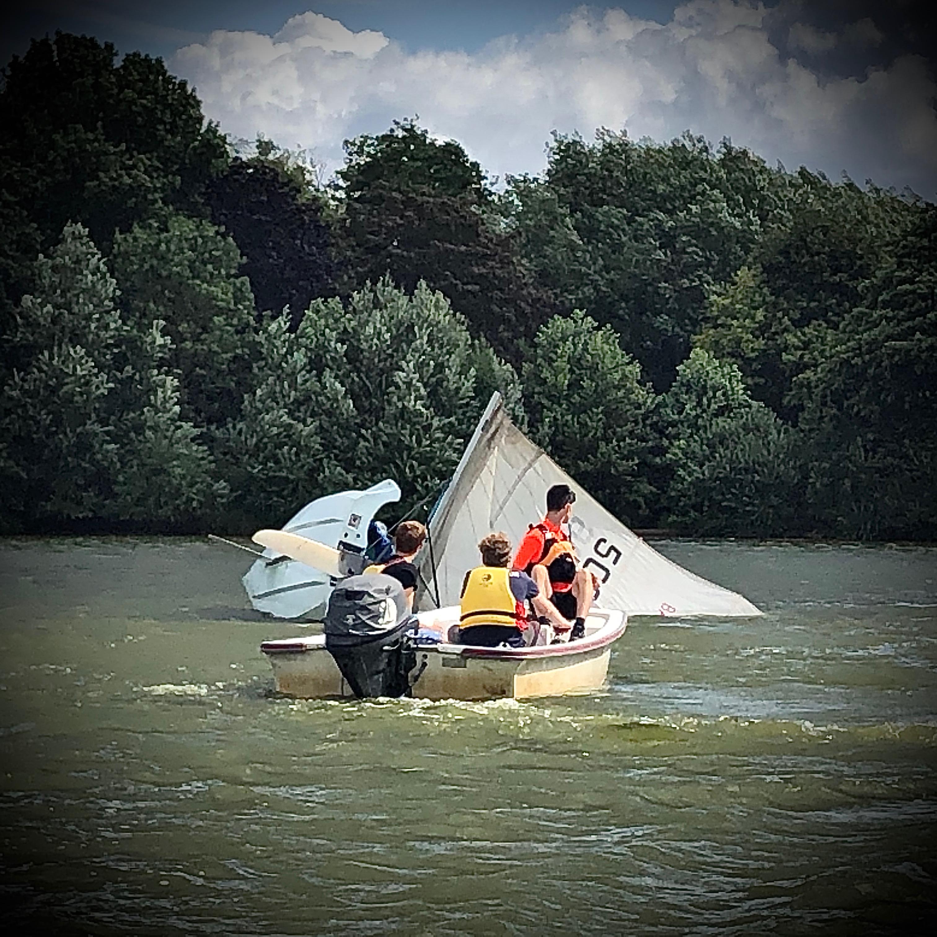 RYA Safety Boat