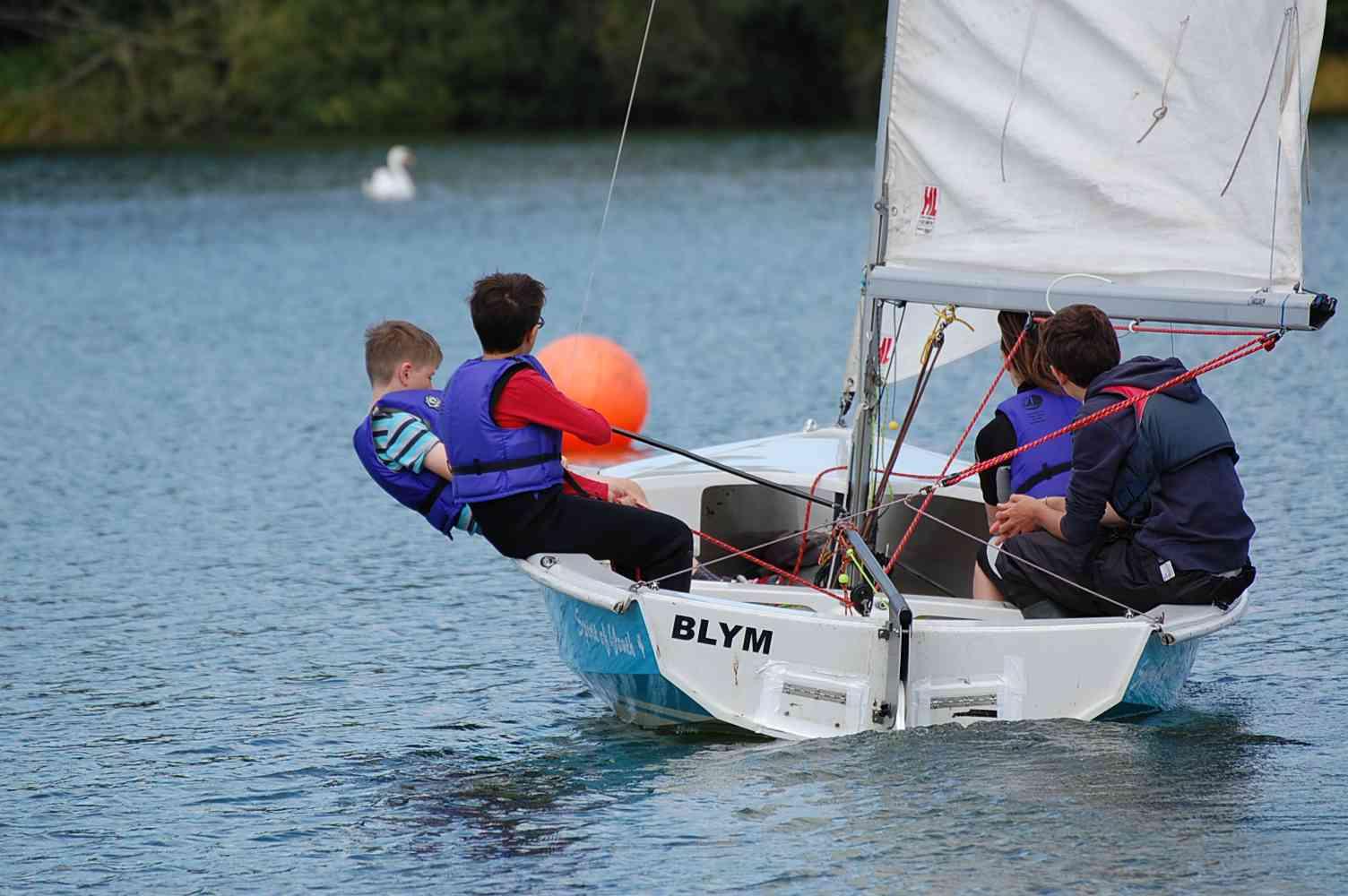 RYA Start Sailing Stages 1 + 2