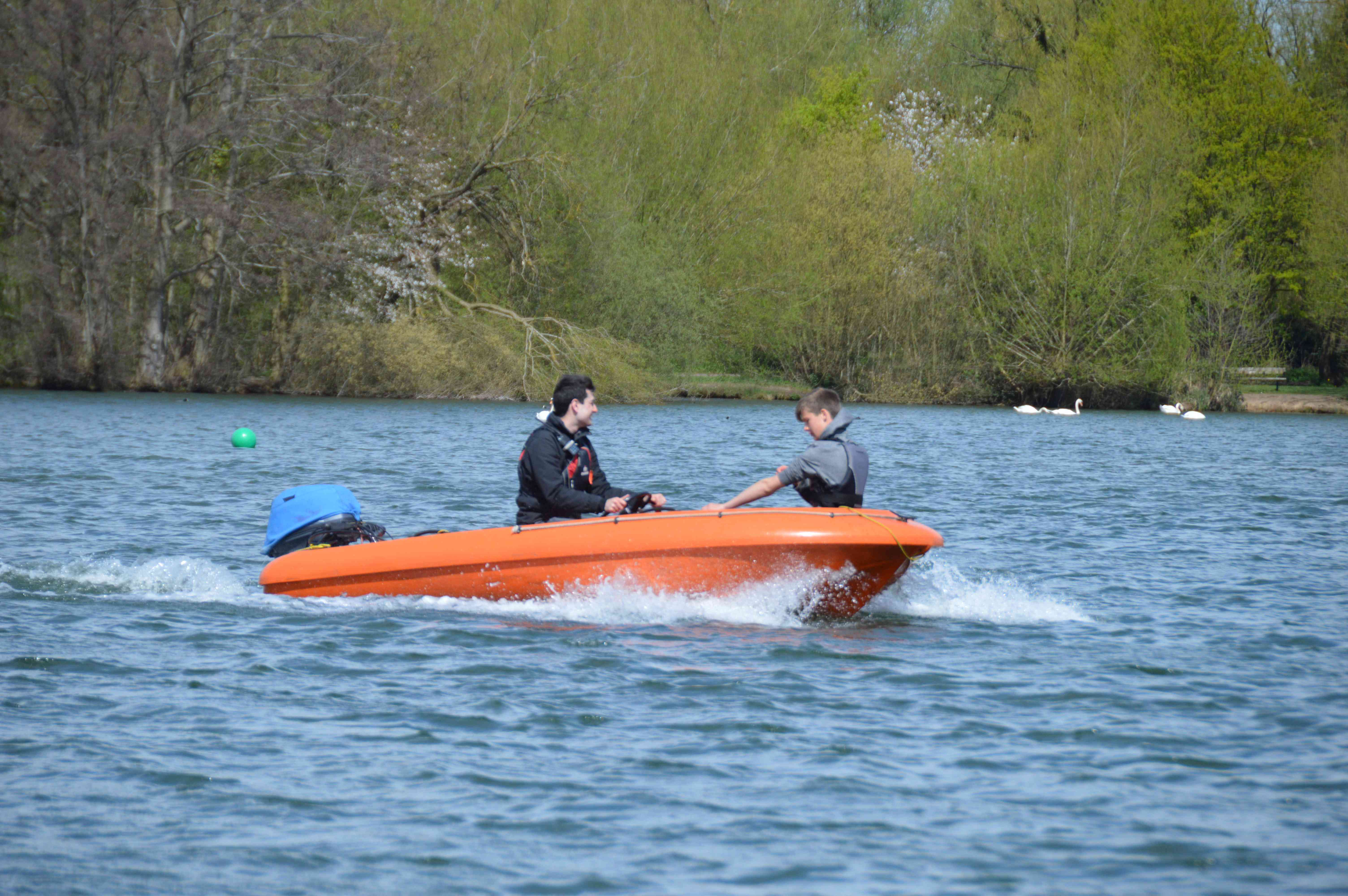 RYA Safety Boat