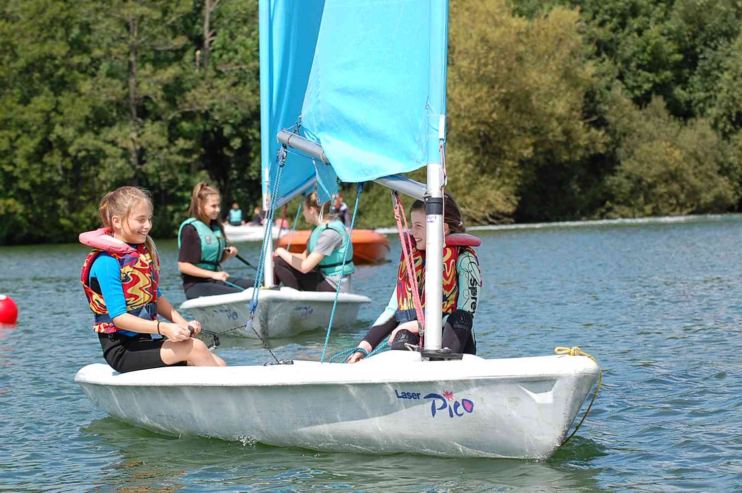 RYA Start Sailing Stages 2 + 3