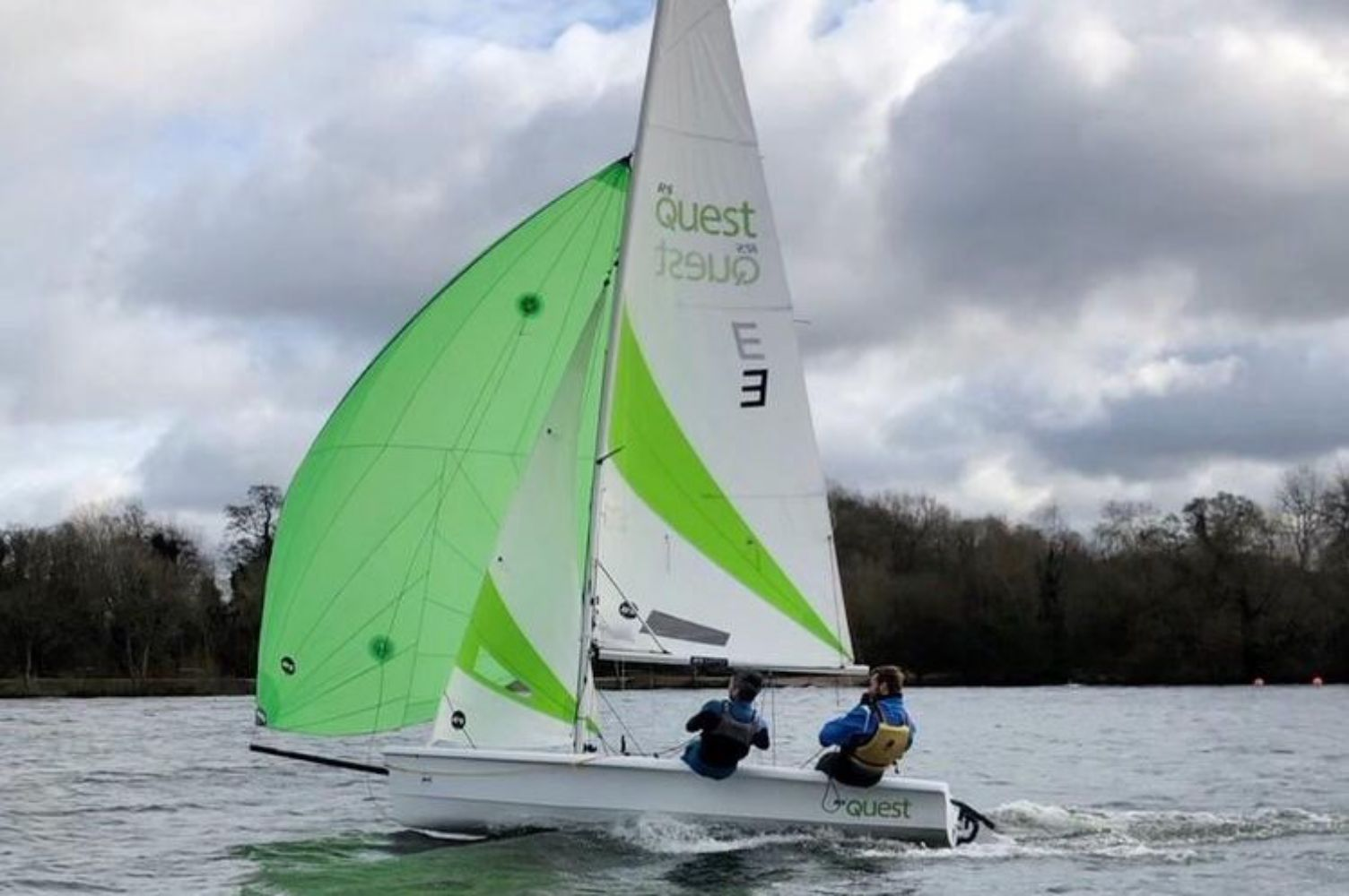 RYA Sailing with Spinnakers